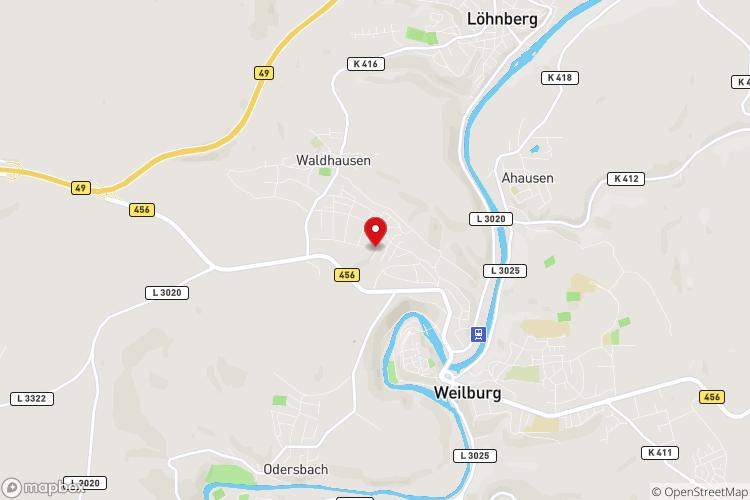 Karte Bodelschwinghstr. 15, Weilburg